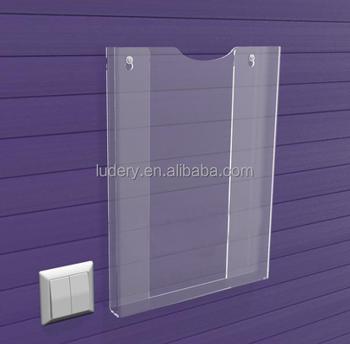 Wall mounted acrylic greeting card book brochure display stand wall mounted acrylic greeting card book brochure display stand holder colourmoves