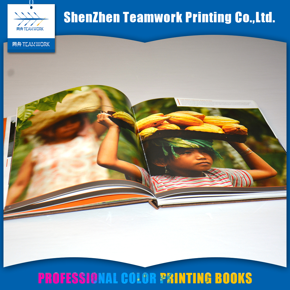cheap printing hardcover photo book custom art book printing