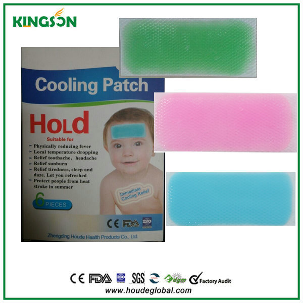 Japan Technology Fever Reducing Cooling Gel Patch Suitable For Any ...
