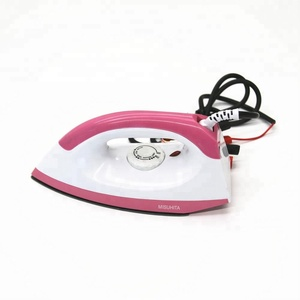 Hot selling dry function pressing iron DC 12V 150W mini travel electric iron