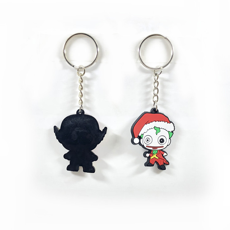 hot sale cheap promotional custom  soft pvc keychain