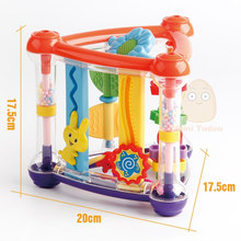 Детские погремушки, развивающие игрушки-погремушки, развивающие игрушки для детей 0-12 месяцев(Китай)