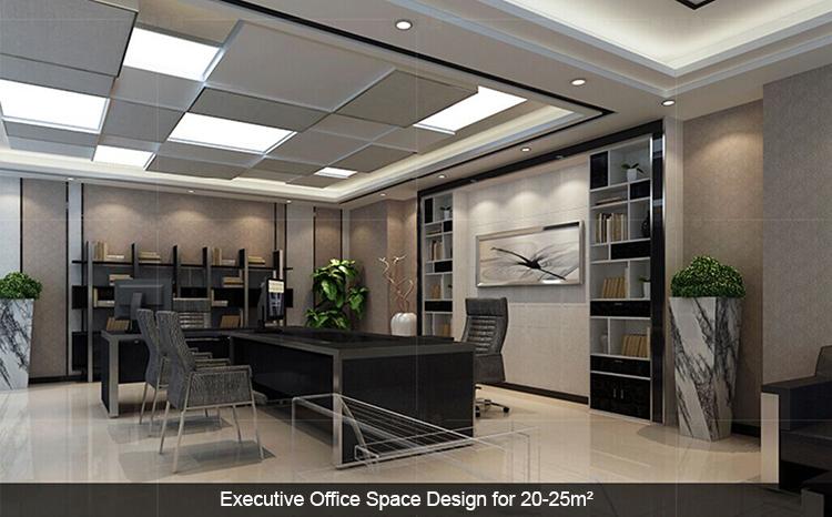 Scrivania Ufficio Professionale : Semplice e moderno nero ufficio scrivania e sedie professionale d