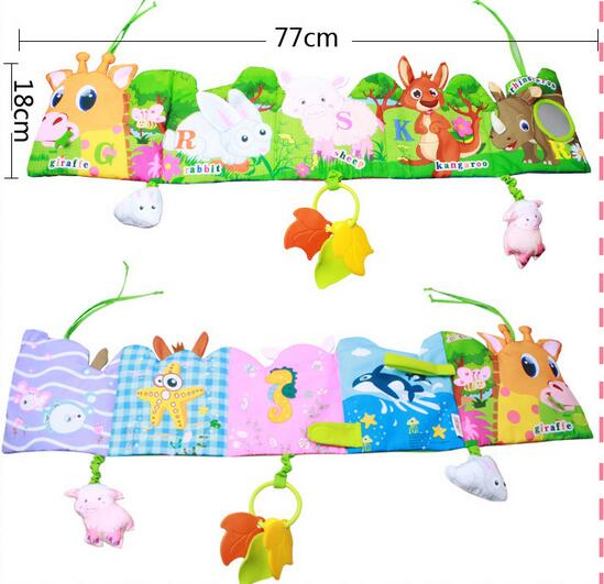 jollybaby brand toy bed cloth book eductional toys