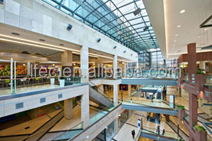 fashion design high rise steel structure building shopping mall