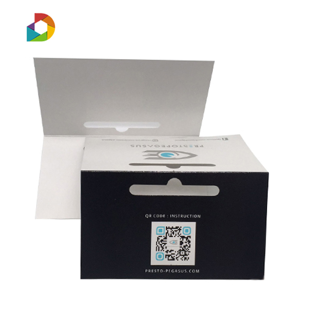 high quality packaging paper card hard paper header cards