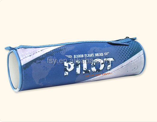 Kids stationery pouch bag school roll pencil case