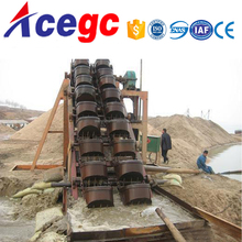 Price of china gold sand dredger machine work in water of river