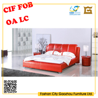 Europe style Bedroom furniture/modern double bed