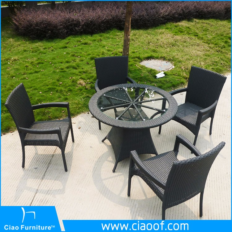 Professional Factory Cheap Wholesale Good Quality Small Rattan /GardenTable And Chairs