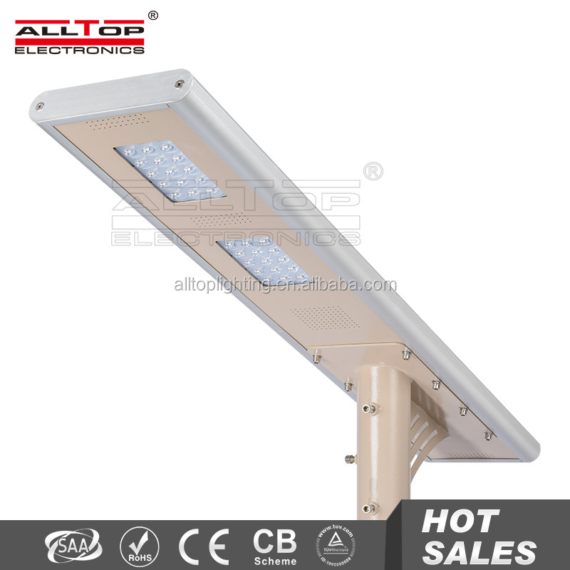 30w high power low price induction solar wind led road street lamp