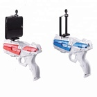 "AR GUN Augmented Console Game Controller with 4.7-6"" Phone Holder For Gifts-Hundred Power"