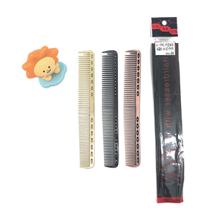 China Suppliers Barber Salon Space Aluminum Hair Comb, Metal Cutting  Hairdressing Combs
