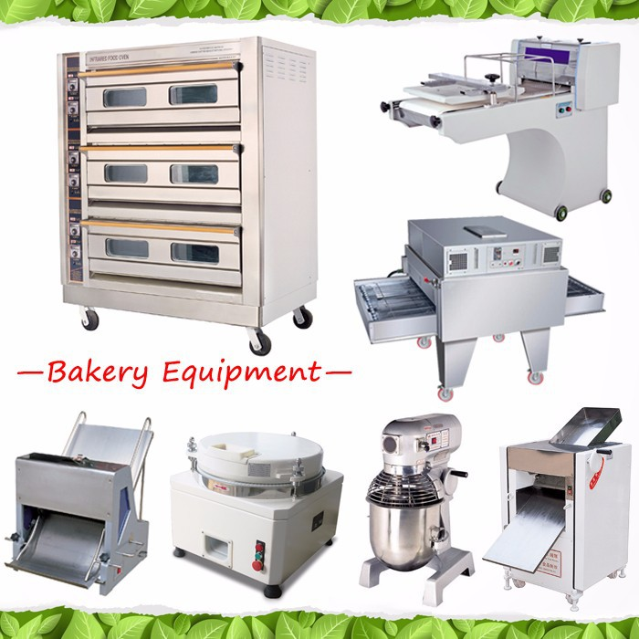 French Automatic Bread Bakery Equipment For Sale