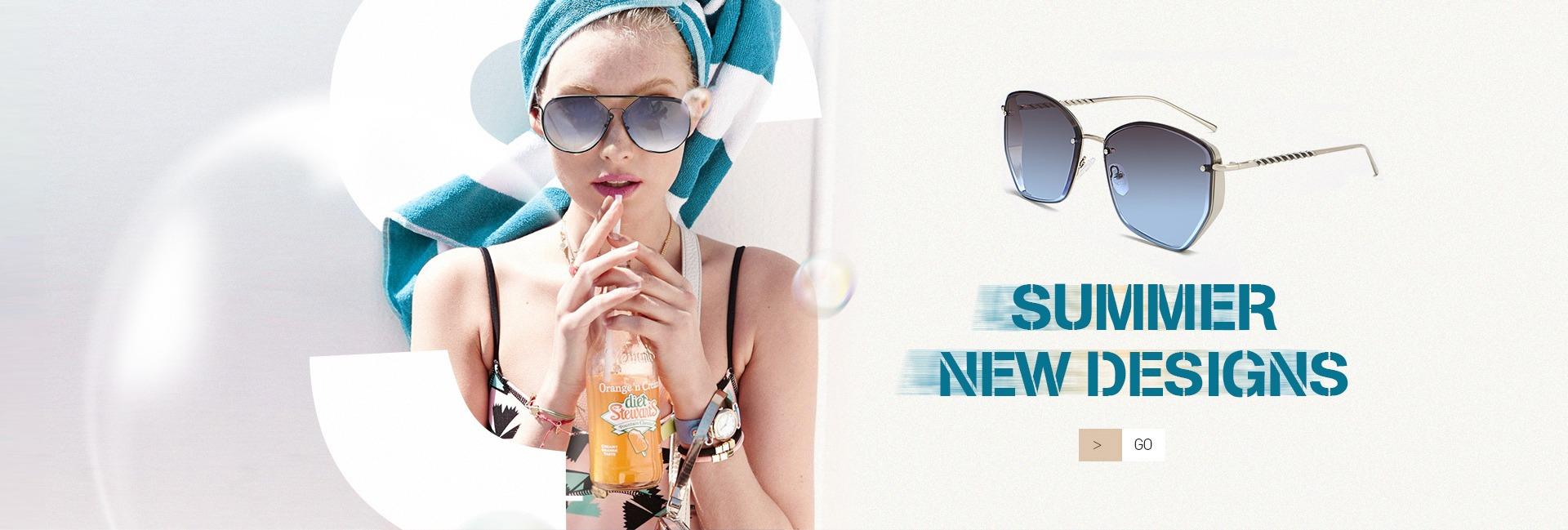 Wsunglass New metal color film sunglasses trend mens and womens same sunglasses frameless sunglasses/_2