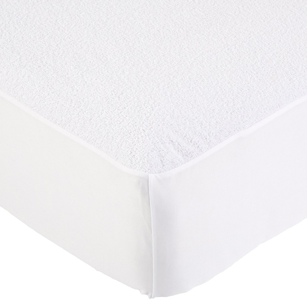 Knited Fabric With TPU Coating Hypoallergenic Waterproof Mattress Protector Single/Double Size