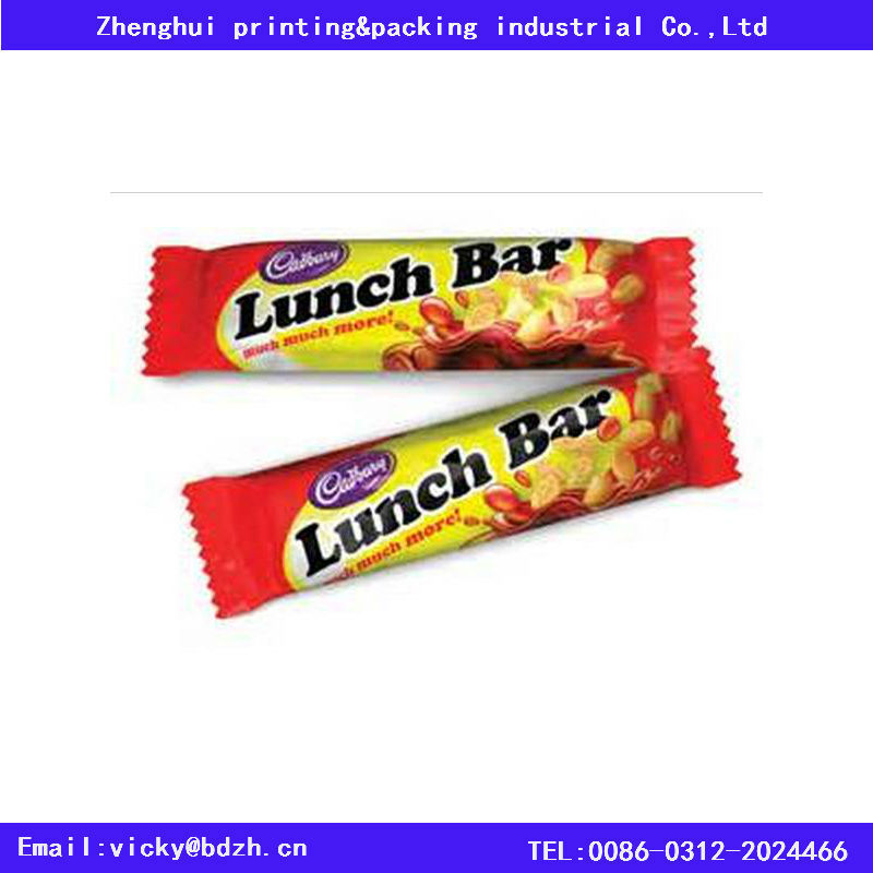 Quality Laminated Color Printed Bopp/cpp Film For Cereal Bar ...