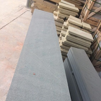 Cheap Natural Light Black Sandstone