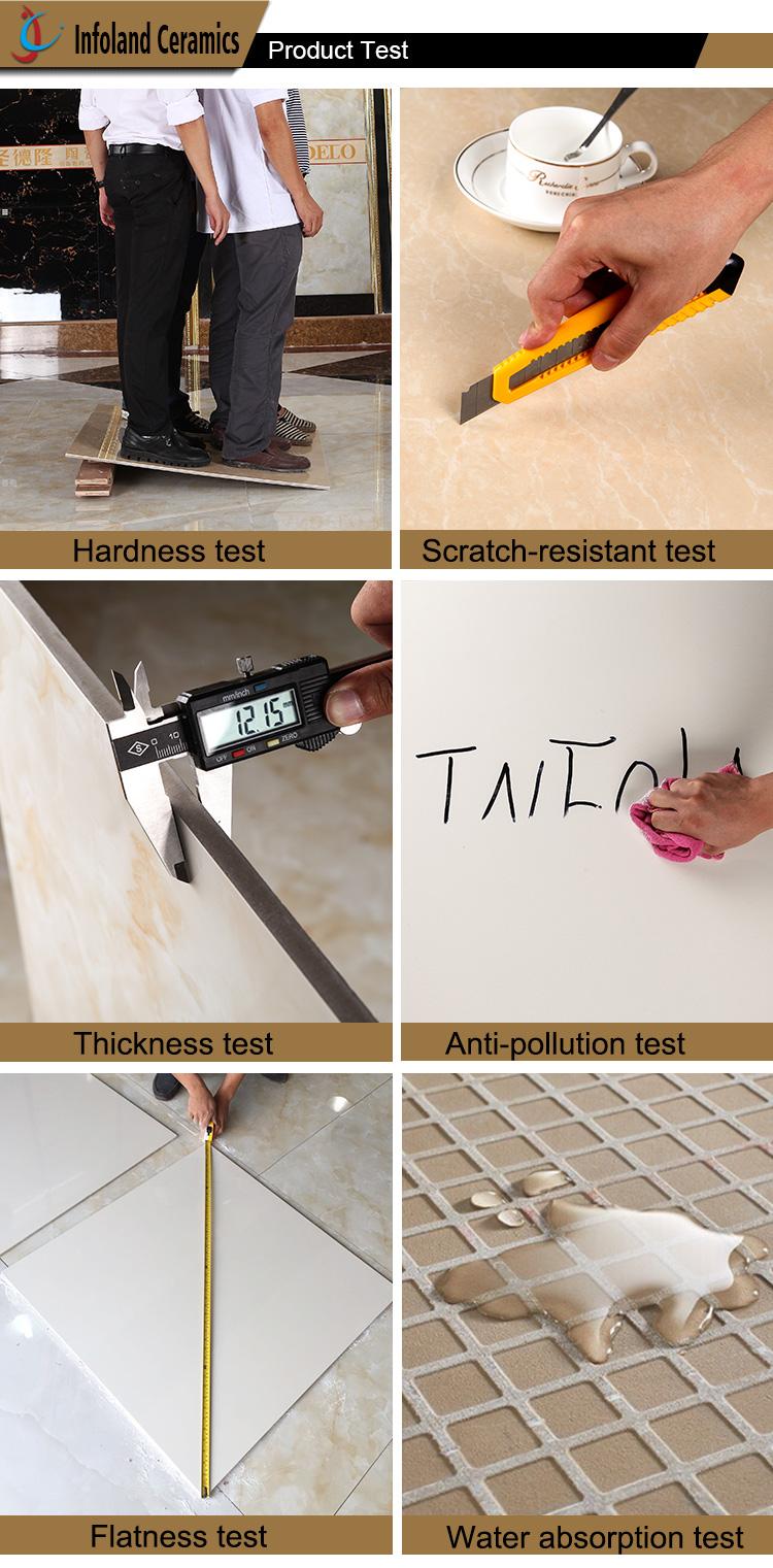 Soluble Salt 600x600 Low Pricing White Horse Ceramic Floor Tile ...