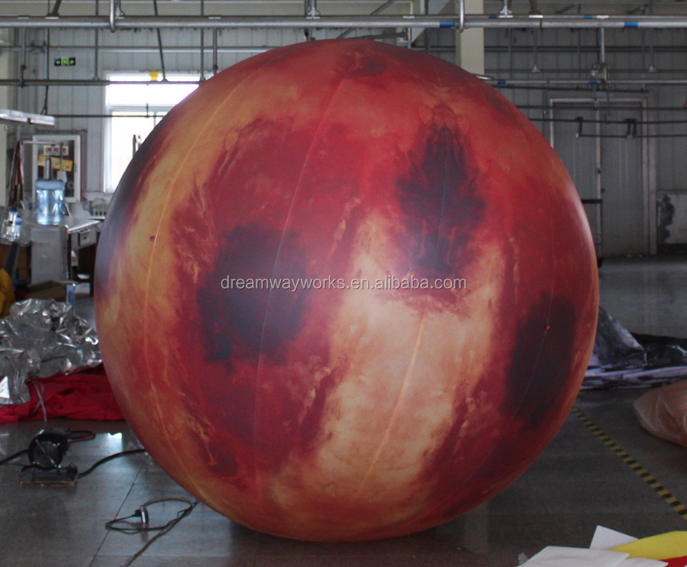 2017 Hot Sale Inflatable Planets For Decoration,Sun,Mars ...