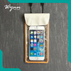 Popular new arrival phone waterproof phone bag for mobile use pvc