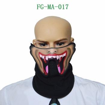 2017new outdoor use led halloween maskled mask skull pumpkin street decoration lights