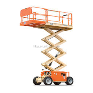Henan factory direct sale mobile scissor lift, electric scissor lift china