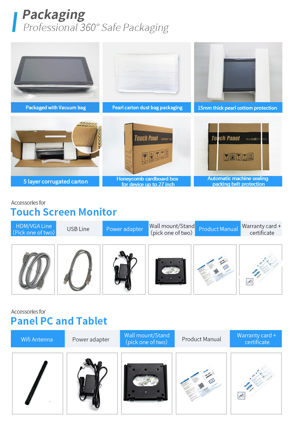 All-in-one 15 17 19  inch LCD Industrial Touch Screen PC / industrial touch all in one pc with Linux System