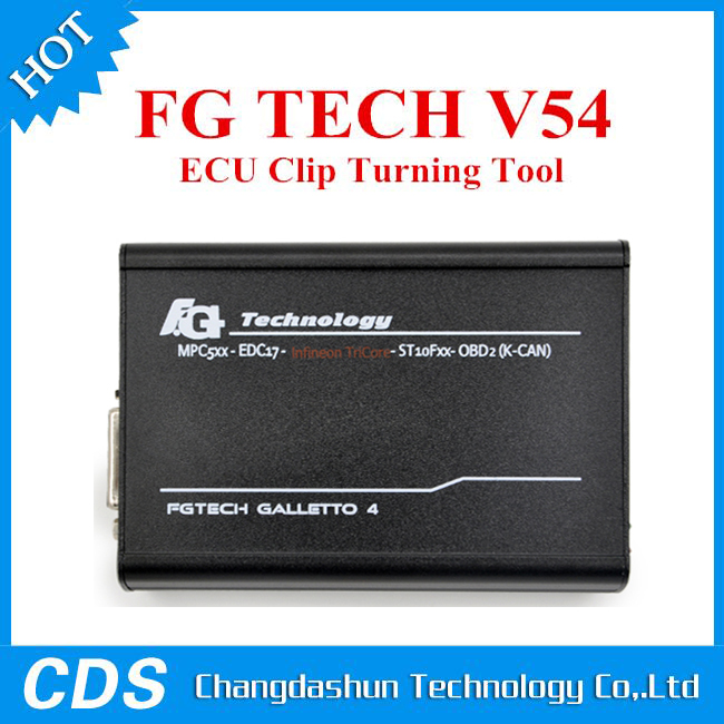 Newest Version V54 FGTech Galletto 4 Master BDM-Tricore-OBD Function FG Tech ECU Programmer with Multi-langauge