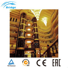 China Manufactured Beautiful Safety Panoramic Passenger Elevator