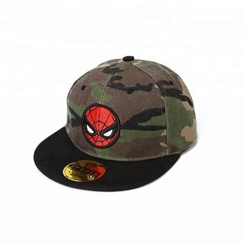 23b7f78f492ad High quality Customize camo embroidered Snapback hats Military camouflage  digital Camo flat bill kids Snapback cap