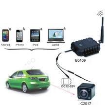 mini night vision outdoor wifi wireless backup camera for car