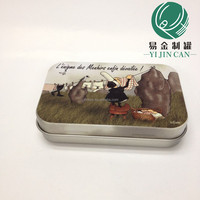 durable modeling rectangular peppermint candy packing box