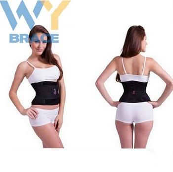 a825064e735 Women Waist Trimmer Belt Trim Curves Trainer Adjustable Sauna Stomach Body  Wrap   Back Lumbar Support