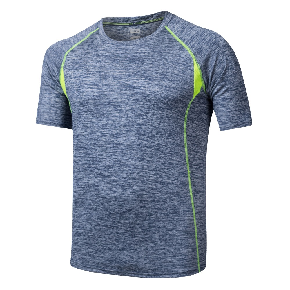 À séchage rapide cation running fitness t-shirt sec fit en gros vêtements de sport