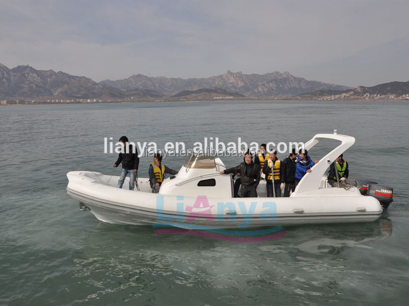 Liya 27ft Military Rib Fishing Boats For Sale In Turkey Semi-rigid ...