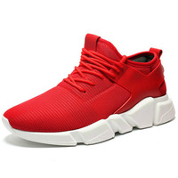 Soft Leather Men Running Shoes Air Breathe Sneakers Sports Shoes Lifestyle Spring Walking Shoes for Men
