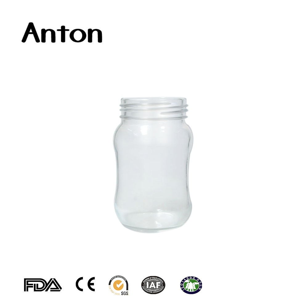 New Pudding Milk Glass Bottles 50ml With Lids Wholesale