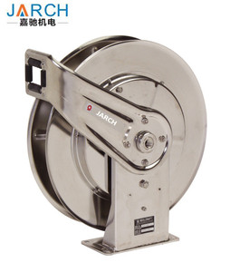 Auto automatic retractable reel cable heavy duty stainless steel air hose reels industrial cable reels