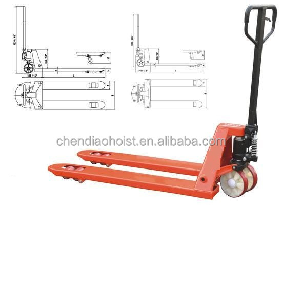 hydraulic pump hand pallet truck 1ton stacker Free Inspection