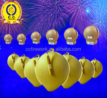 high quality salute display shell fireworks for sale/3 inch fireworks shells for 1.3G