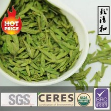 Oganic Longjing green tea tea grade C handpick from own tea farm/process by own factory CERES NOP EC