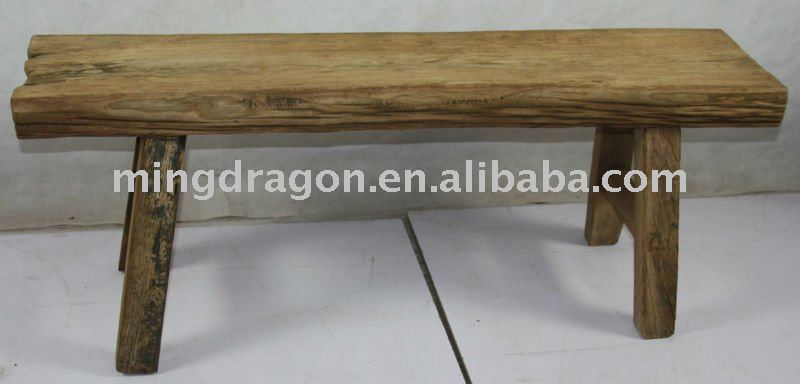 Rustic Wooden Stool, reproduction furniture