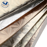 Wholesale TC backing 0.7mm embossing mirror pu tpu leather products