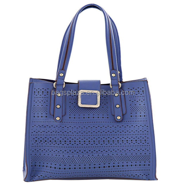 china supplier alibaba HD26-059 fashion leather hand bags lady purple hollow out ladies women handbag bag