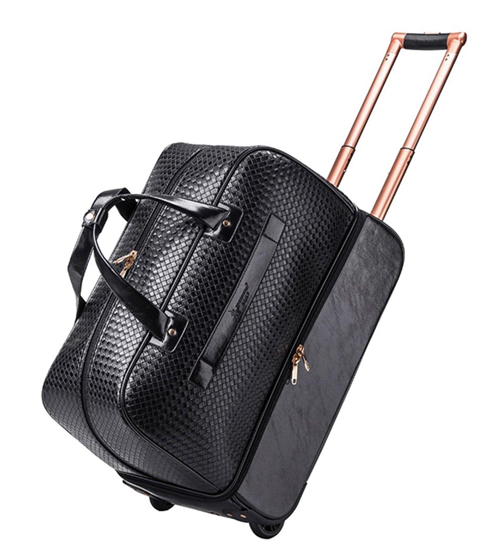 445f5b84f2691 Buy Wheeled Duffle Trolley Bag Men Women Soft Luggage Travel Bags on ...