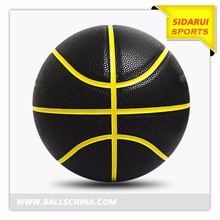 Top Quality shiny pvc cheap leather basketball