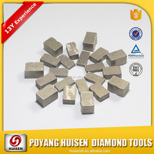 "12""- 100"" Diamond Segments Used in India IMPERIAL RED Cutting Marble Segment"