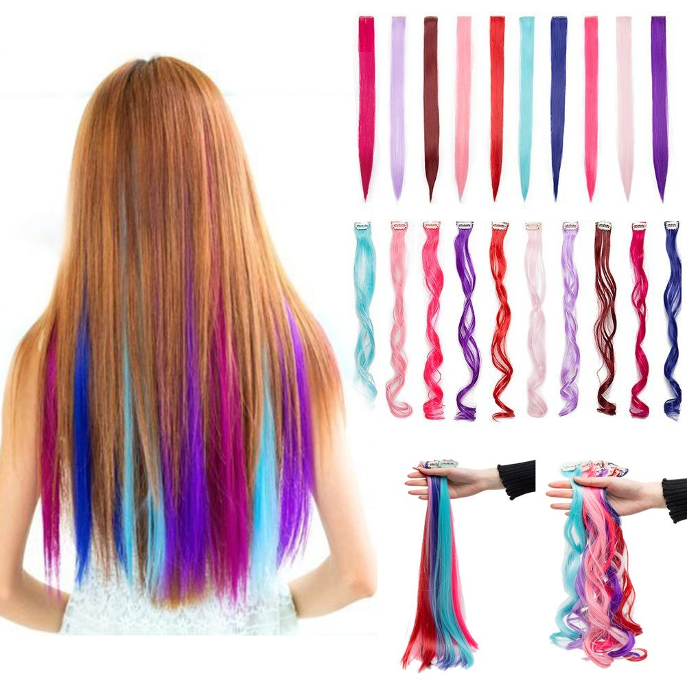 Cheap Rainbow Hair Extension Clip Find Rainbow Hair Extension Clip