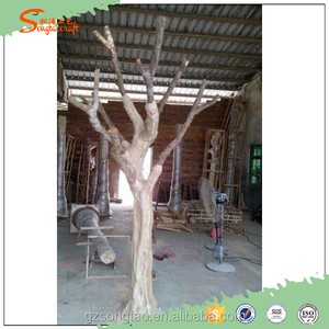 Customize artificial tree trunk without leaves dry tree for decoration fake tree trunks